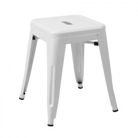 Low Stool – Tolix White