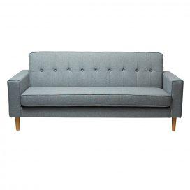 Sofa Lounge - Scandinavian 3 Seater Grey