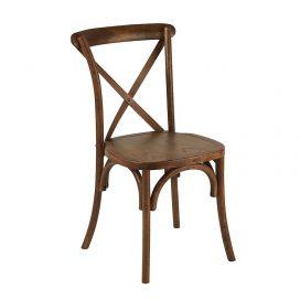 Chair – Cross Back Oak