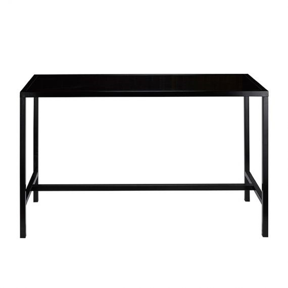Bench Bar Table Black Hire Society