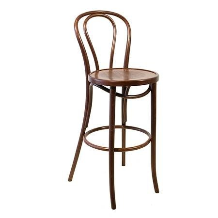 Bar Stool Bentwood With Back Hire Society
