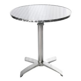 Cafe Table – Aluminium 700mm