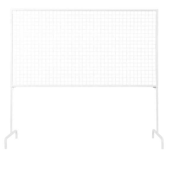 Wire Mesh – Adjustable Screen (White)