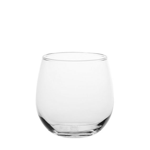 Red Wine Glass – Stemless