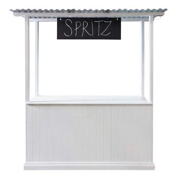 Lemonade Stand – White Timber Panel