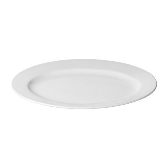 Platter – Ceramic Oval Bristile 35cm x 25cm