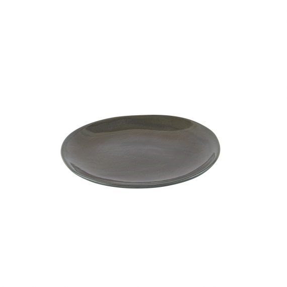 Side Plate – Earthware Olive Grey