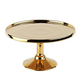 Cake Stand – Gold