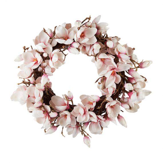 Wreath – Magnolia Pink