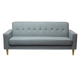 Sofa Lounge – Scandinavian 3 Seater Grey