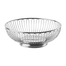 Bread Basket -Chrome (Round)