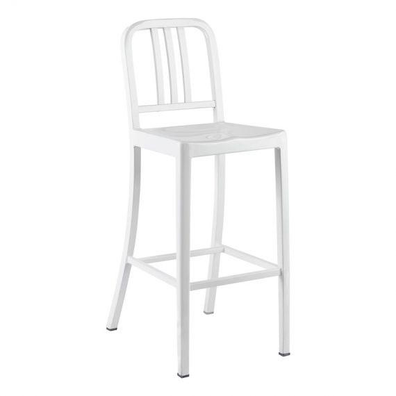 Bar Stool – US Navy White