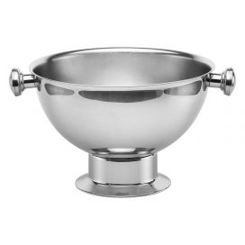 Punch Bowl – Stainless Steel with Handles