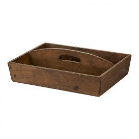 Tray – Wooden Rustic Medium (Double Tray)