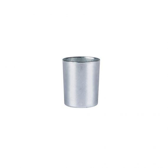 Tea Light Holder – Silver