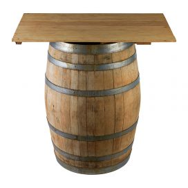 Table Top – Oregan Light (for Wine Barrel)