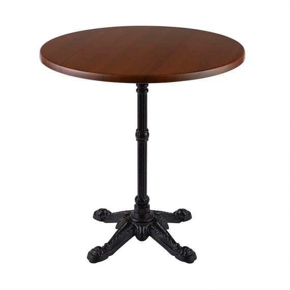 Cafe Table – Antique with New Top