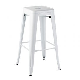 Bar Stool – Tolix White