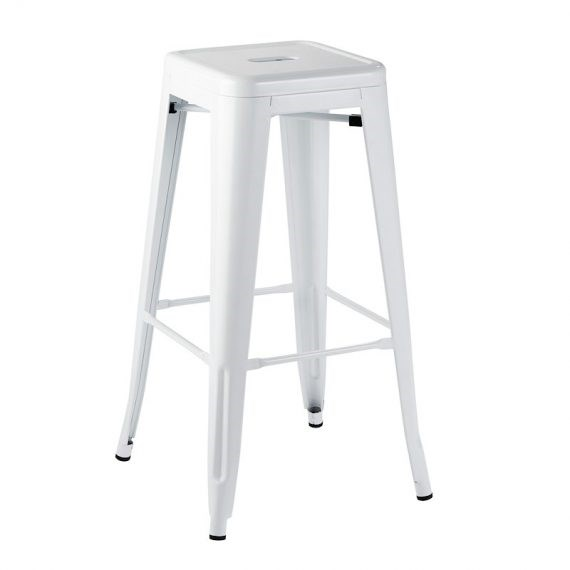 bar stool tolix white hire society