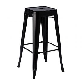 Bar Stool – Tolix Black