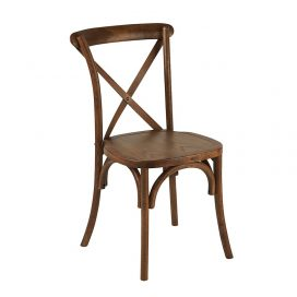 Chair – Cross Back Oak