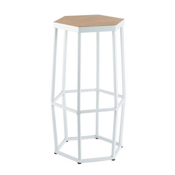 Bar Stool – Hive White