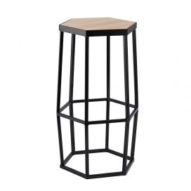Bar Stool – Hive Black