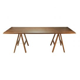 Trestle Table – Banquet Timber Dark