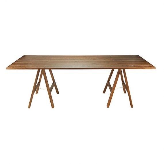 Trestle Table – Banquet Timber Dark