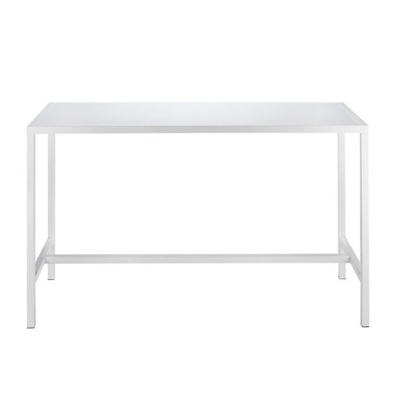 Bench Bar Table – White