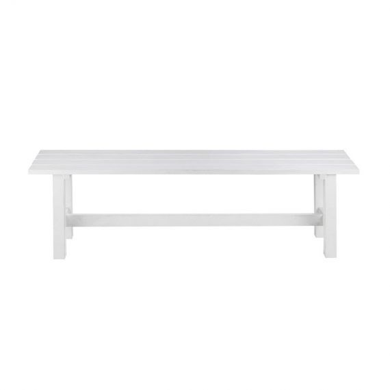 Phenomenal Bench Seat White Hire Society Pdpeps Interior Chair Design Pdpepsorg
