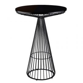 Dry Bar Table – Wire Worx Black