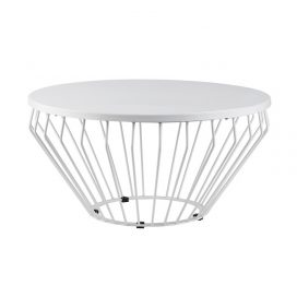 Coffee Table – Wire Worx White