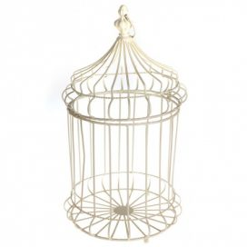 Birdcage – Cream Large