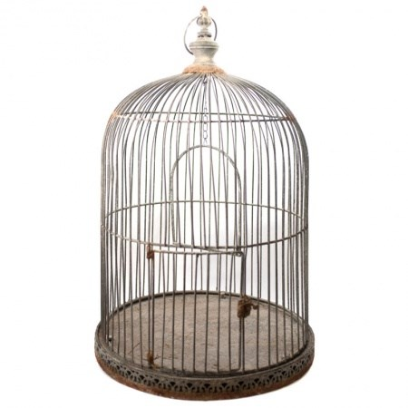 Birdcage – Rustic Large