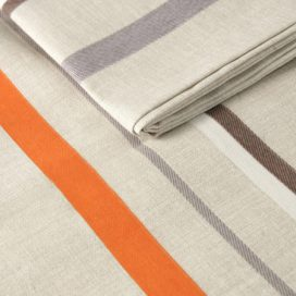 Runner – Stripe Brown & Orange