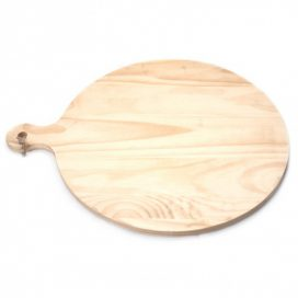 Breadboard – Pine Rustic Round