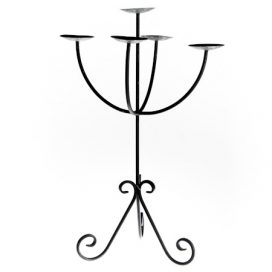 Candelabra – Wrought Iron 5 Branch