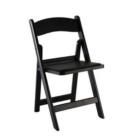 Chair – Folding Black