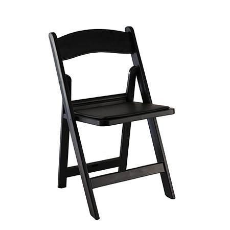 Chair – Folding Black