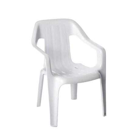 Children's Chair – Plastic White