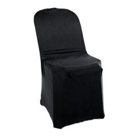 Chair Cover – Black (Lycra)