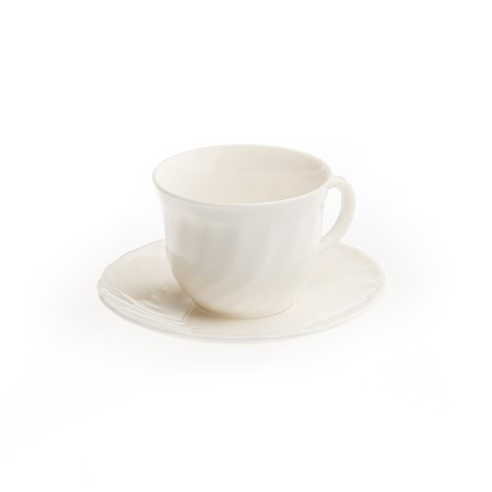 Cup and Saucer – Arcopal (Kosher)