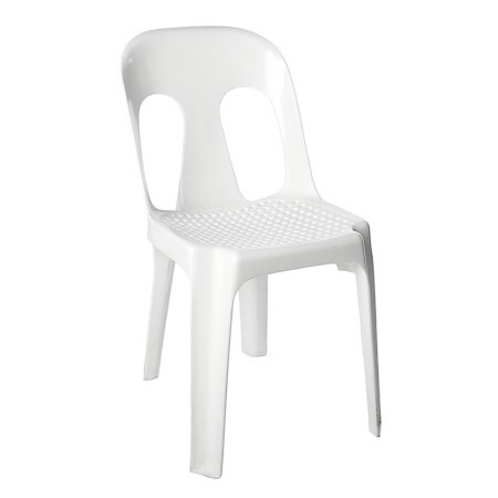 chair - pippee white - hire society