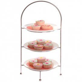 Cake Stand – Chrome 3 Tier