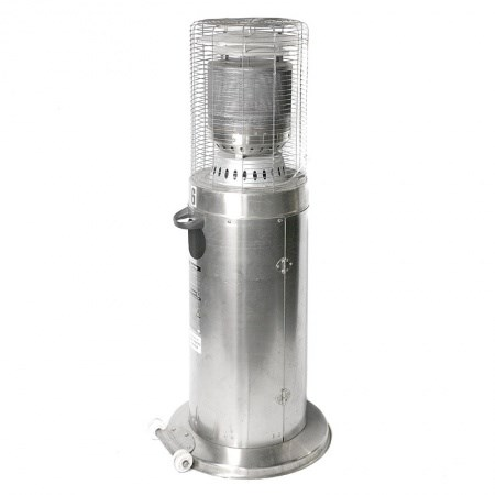 Short Gas Heater with Gas Bottle