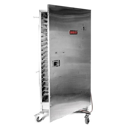18 Rack Hot Box with Gas (Outdoor Use Only)