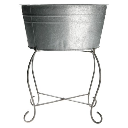 Drinks Tub and Stand – Low Standing (Oval)