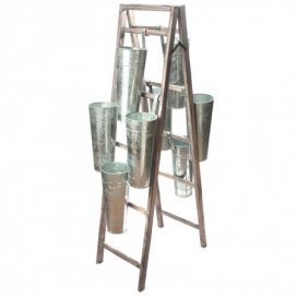 Ladder – with Tin Buckets