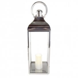 Lantern – Metal & Glass Large